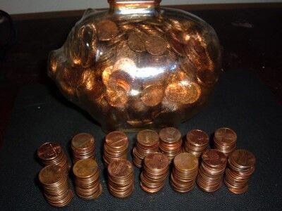 1000 pennies