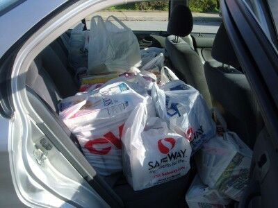 Milpitas food pantry car seat