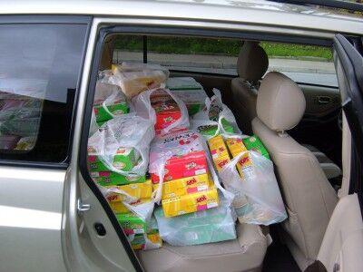 cereal car side