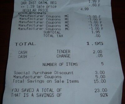92 percent savings