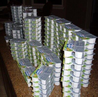 Philadelphia cream cheese minis 4-packs