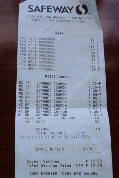 deli creation receipt