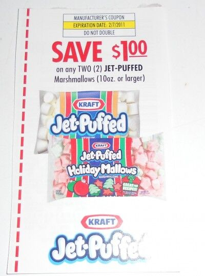Jett Puffed marshmallow coupon