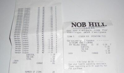 nob hill garden delight pasta receipt